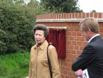 HRH Princess Royal dedicates Field View